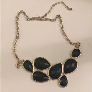 Statement Black necklace